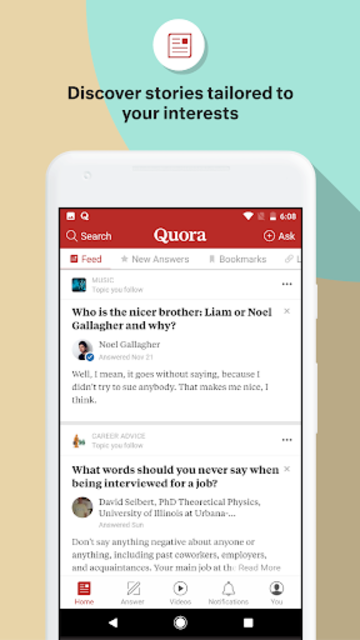 Quora — Ask Questions, Get Answers screenshot 1