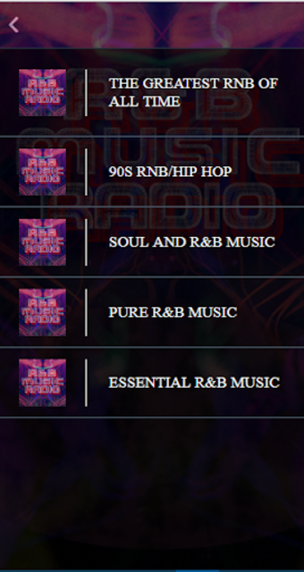 Free RnB Music Radio screenshot 2