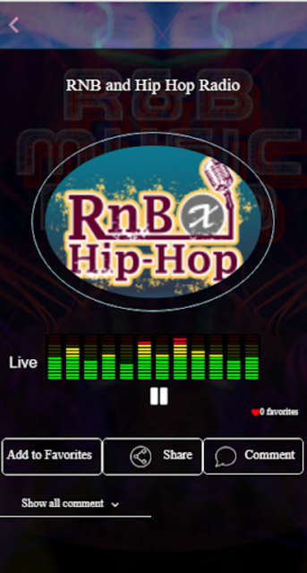 Free RnB Music Radio screenshot 3