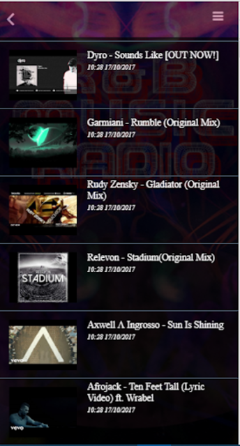 Free RnB Music Radio screenshot 6