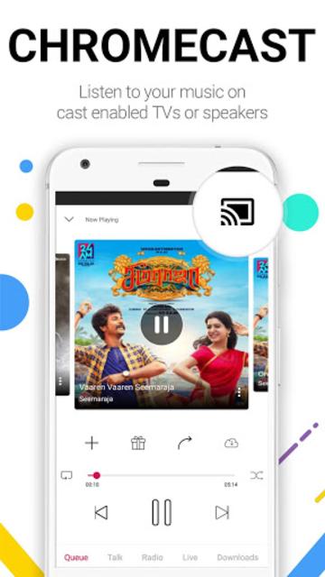 Raaga Hindi Tamil Telugu songs and podcasts screenshot 14