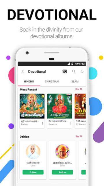 Raaga Hindi Tamil Telugu songs and podcasts screenshot 15