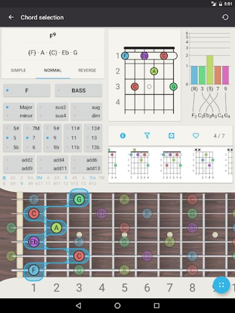 Chord! (Guitar Chord Finder) screenshot 9