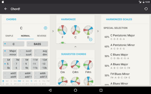 Chord! (Guitar Chord Finder) screenshot 16