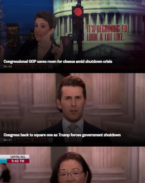 MSNBC Rachel Maddow Live screenshot 1