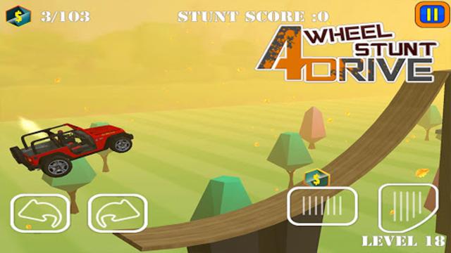 Uphill Stunt Drive mmx Truck screenshot 1