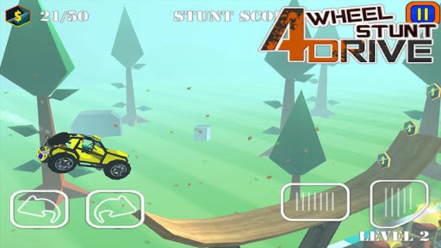 Uphill Stunt Drive mmx Truck screenshot 2
