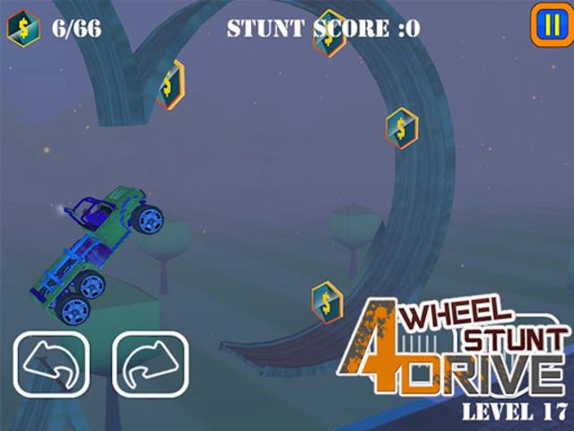 Uphill Stunt Drive mmx Truck screenshot 10