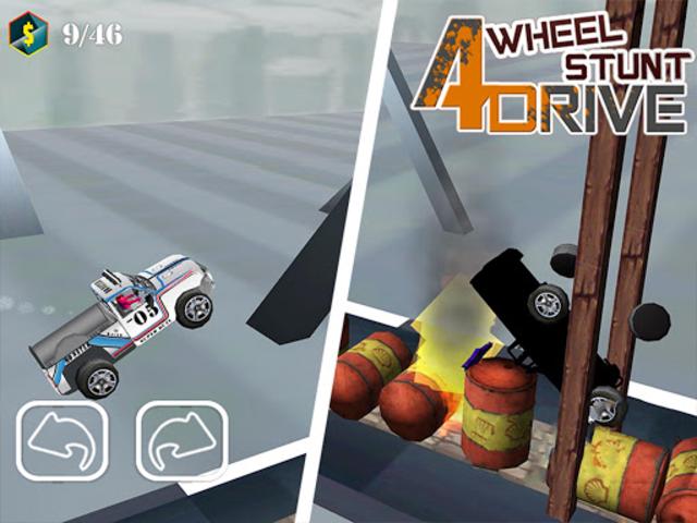 Uphill Stunt Drive mmx Truck screenshot 14