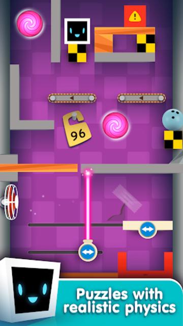 Heart Box - Physics Puzzles screenshot 1