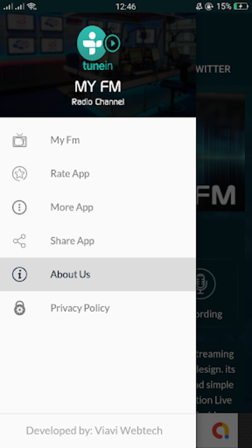 free tunein radio and tune in fm radio /nfl screenshot 1