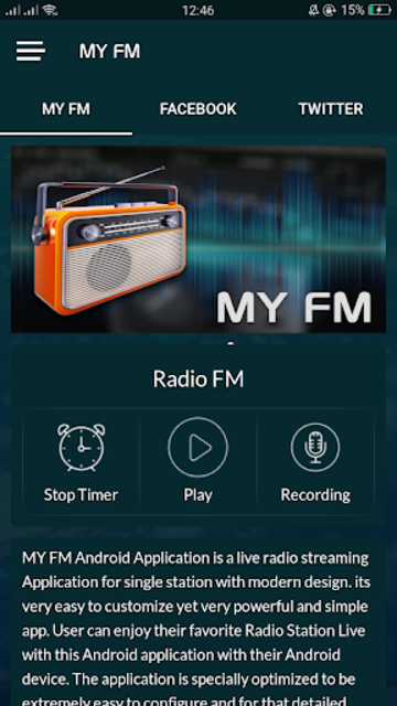 free tunein radio and tune in fm radio /nfl screenshot 4