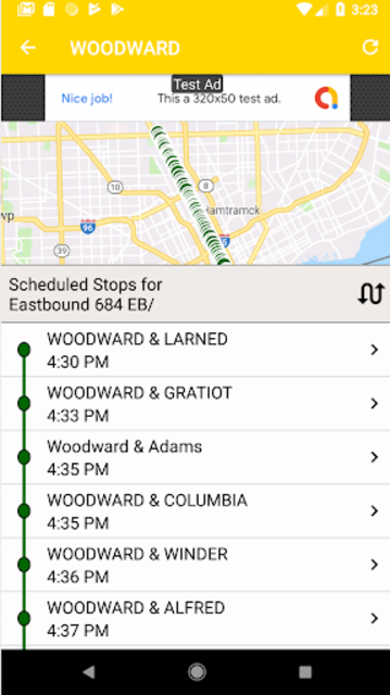 Transit Tracker - Detroit (DDOT) screenshot 3