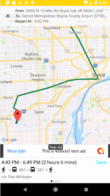 Transit Tracker - Detroit (DDOT) screenshot 4