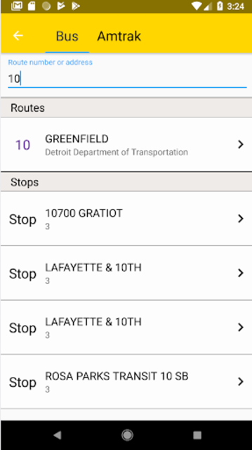 Transit Tracker - Detroit (DDOT) screenshot 5