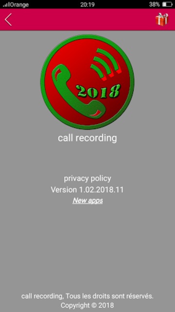 auto Call Recorder 2018 screenshot 3