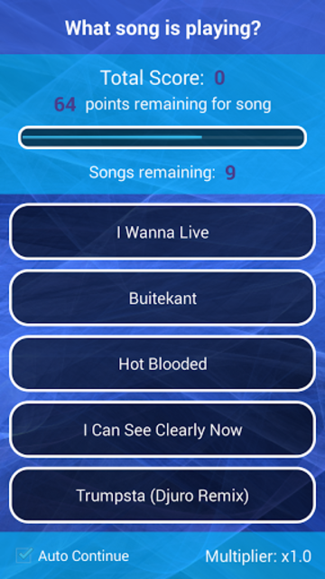 Guess your own Songs screenshot 3