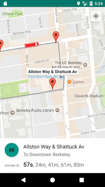 AC Transit Bus Tracker App - Commuting made easy. screenshot 5