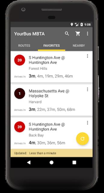 MBTA Boston Bus Tracker - Commuting made easy screenshot 2