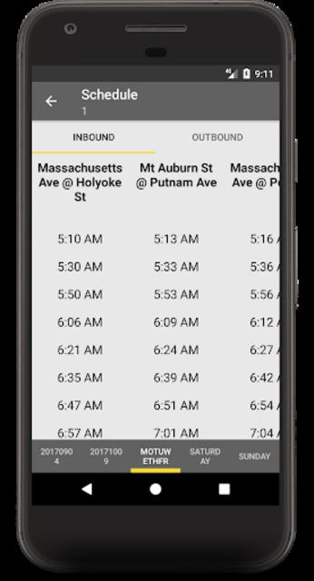 MBTA Boston Bus Tracker - Commuting made easy screenshot 4