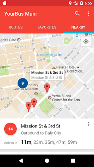 San Francisco Muni Bus Tracker - Muni made easy screenshot 4