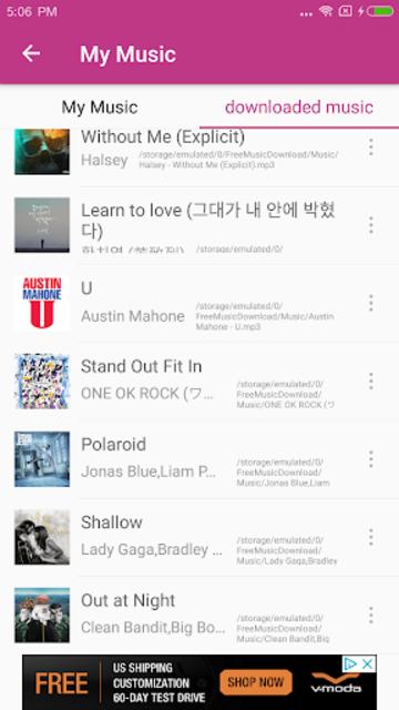 MP3 Downloader & Music Player screenshot 5