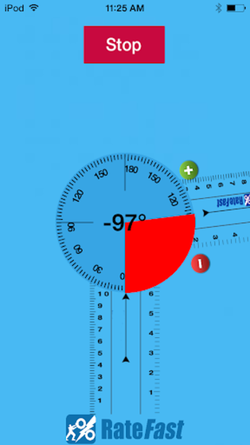 RateFast Goniometer screenshot 2