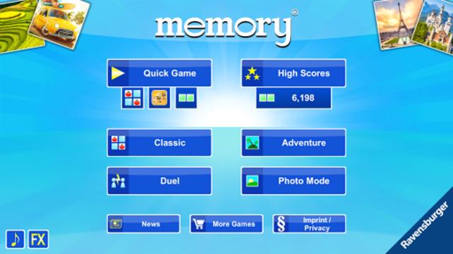 memory® screenshot 1