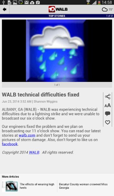 WALB News 10 screenshot 11