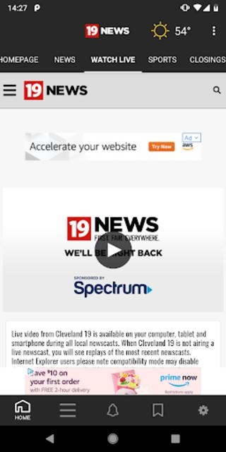 WOIO Cleveland19 News screenshot 2
