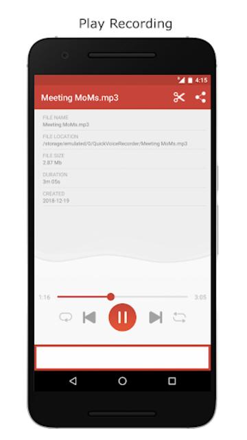 Voice Recorder – Record Unlimited Audio screenshot 3