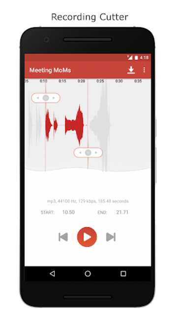 Voice Recorder – Record Unlimited Audio screenshot 4