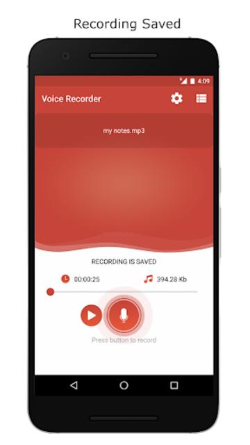 Voice Recorder – Record Unlimited Audio screenshot 6