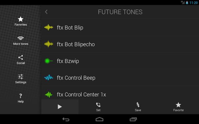 Future Tones -Sci-Fi Ringtones screenshot 8