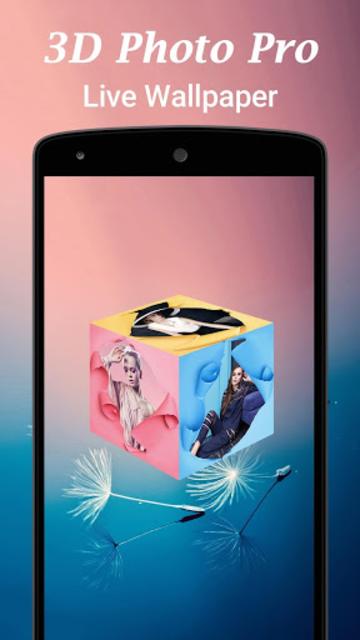 3D Photo Pro Live Wallpaper screenshot 1