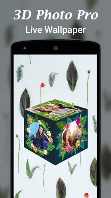 3D Photo Pro Live Wallpaper screenshot 2