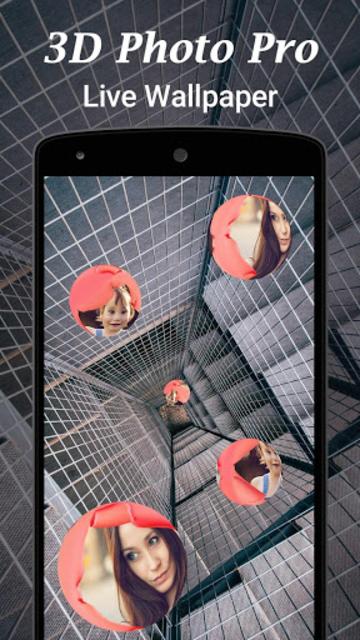 3D Photo Pro Live Wallpaper screenshot 3