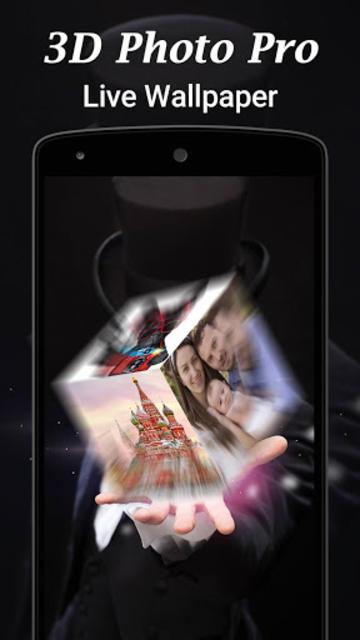3D Photo Pro Live Wallpaper screenshot 4