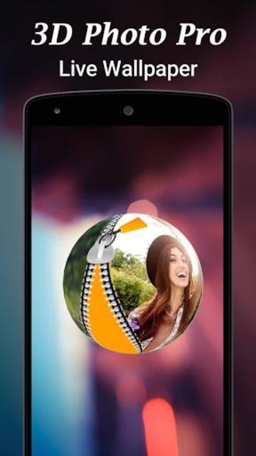 3D Photo Pro Live Wallpaper screenshot 5