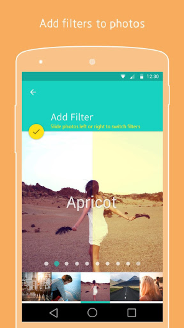 PicsFlow - Slideshow editor screenshot 2