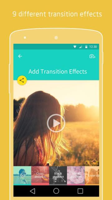PicsFlow - Slideshow editor screenshot 4