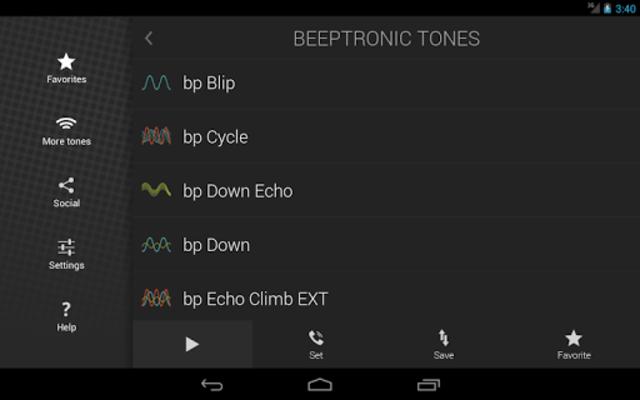Beeptronic Tones screenshot 9