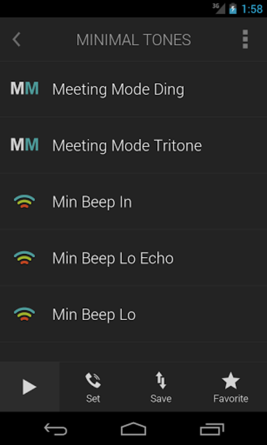 Minimalist Ringtones screenshot 2