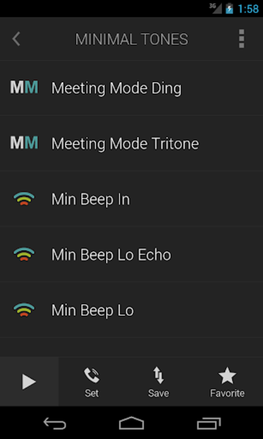 Minimalist Ringtones screenshot 2