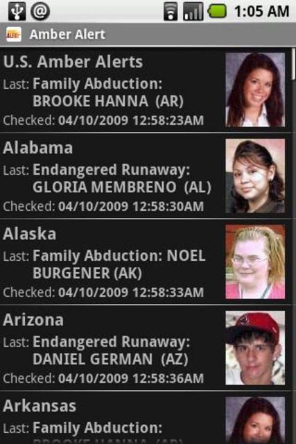 Amber Alert screenshot 1