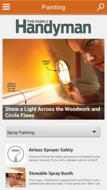 Family Handyman DIY Tip Genius screenshot 1