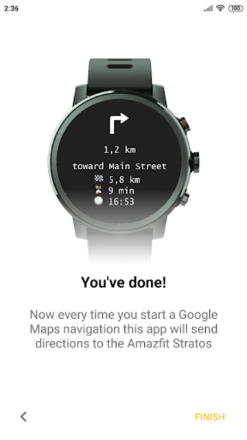 Navigator for Amazfit Pace, Stratos and Verge screenshot 2