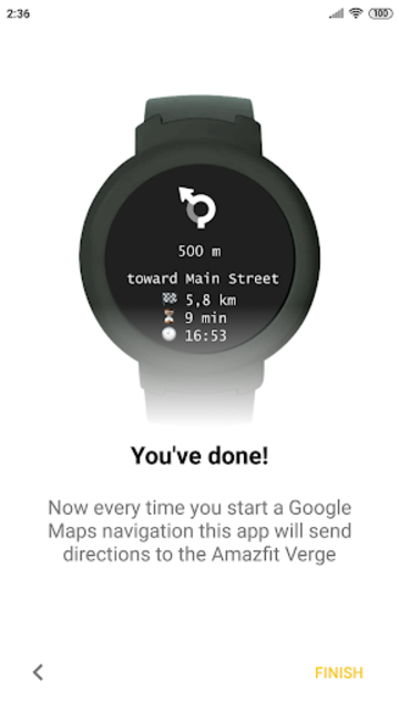 Navigator for Amazfit Pace, Stratos and Verge screenshot 3
