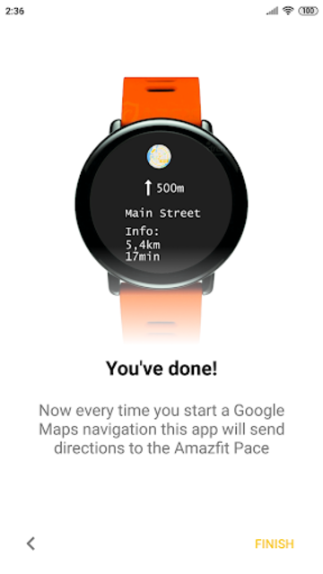 Amazfit Maps: navigator for Amazfit screenshot 1