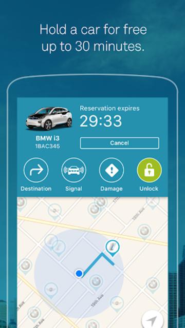 ReachNow - BMW Car & Ride Sharing Service screenshot 3